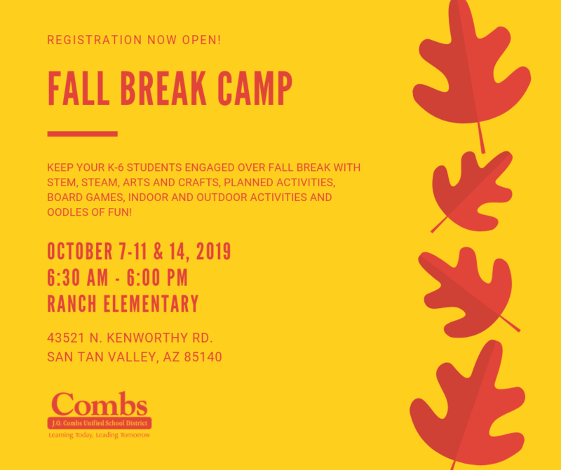 Fall Break Camp