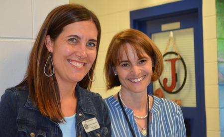 Mrs. Zarbema & Mrs. Biancheri