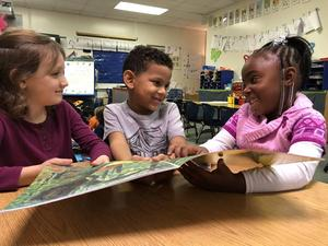 Kids Reading at CDC