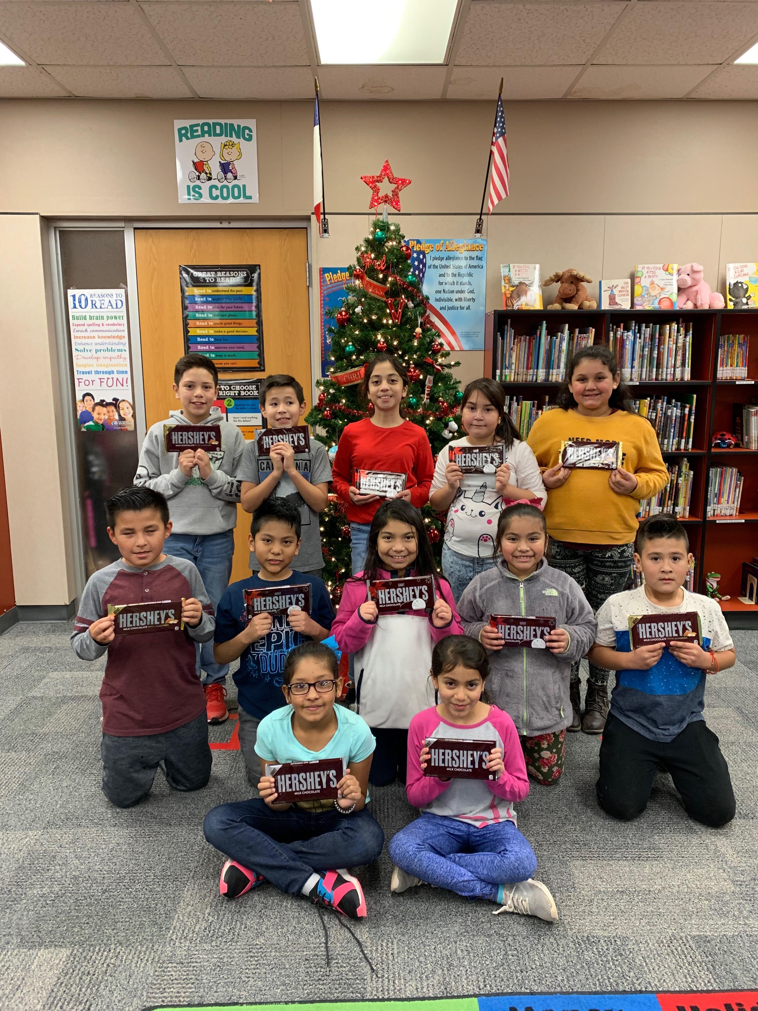 Mrs. Hawkin's Class. Most Words read Dec. 2 - 18, 2019.