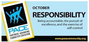 October PACE - Responsibility