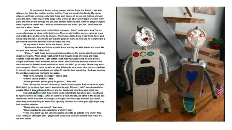 Rosie the robot and their story