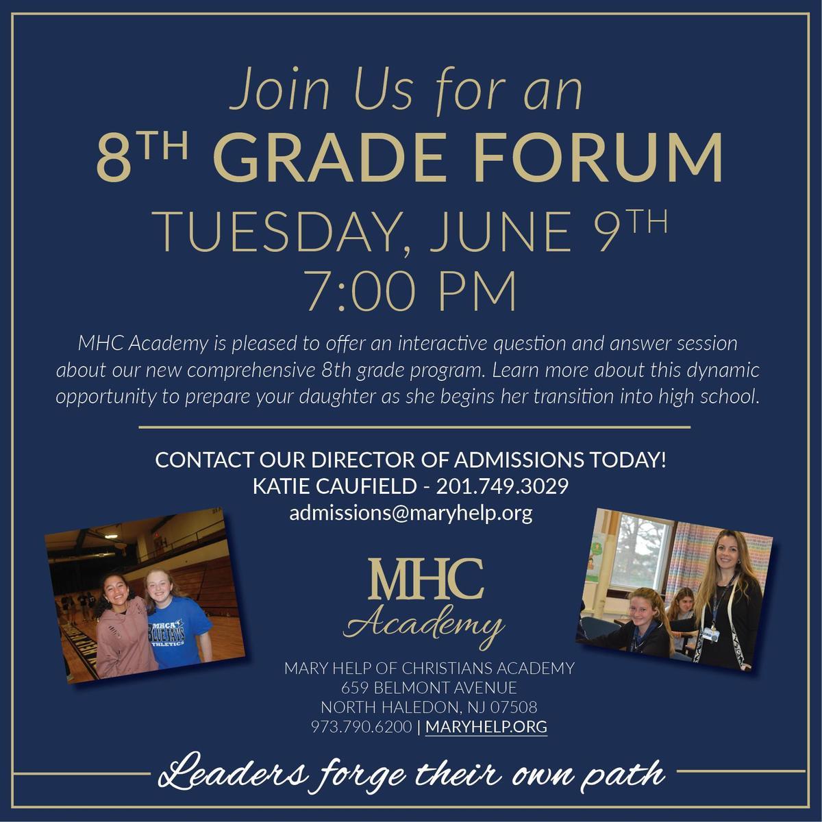 8th Grade Forum