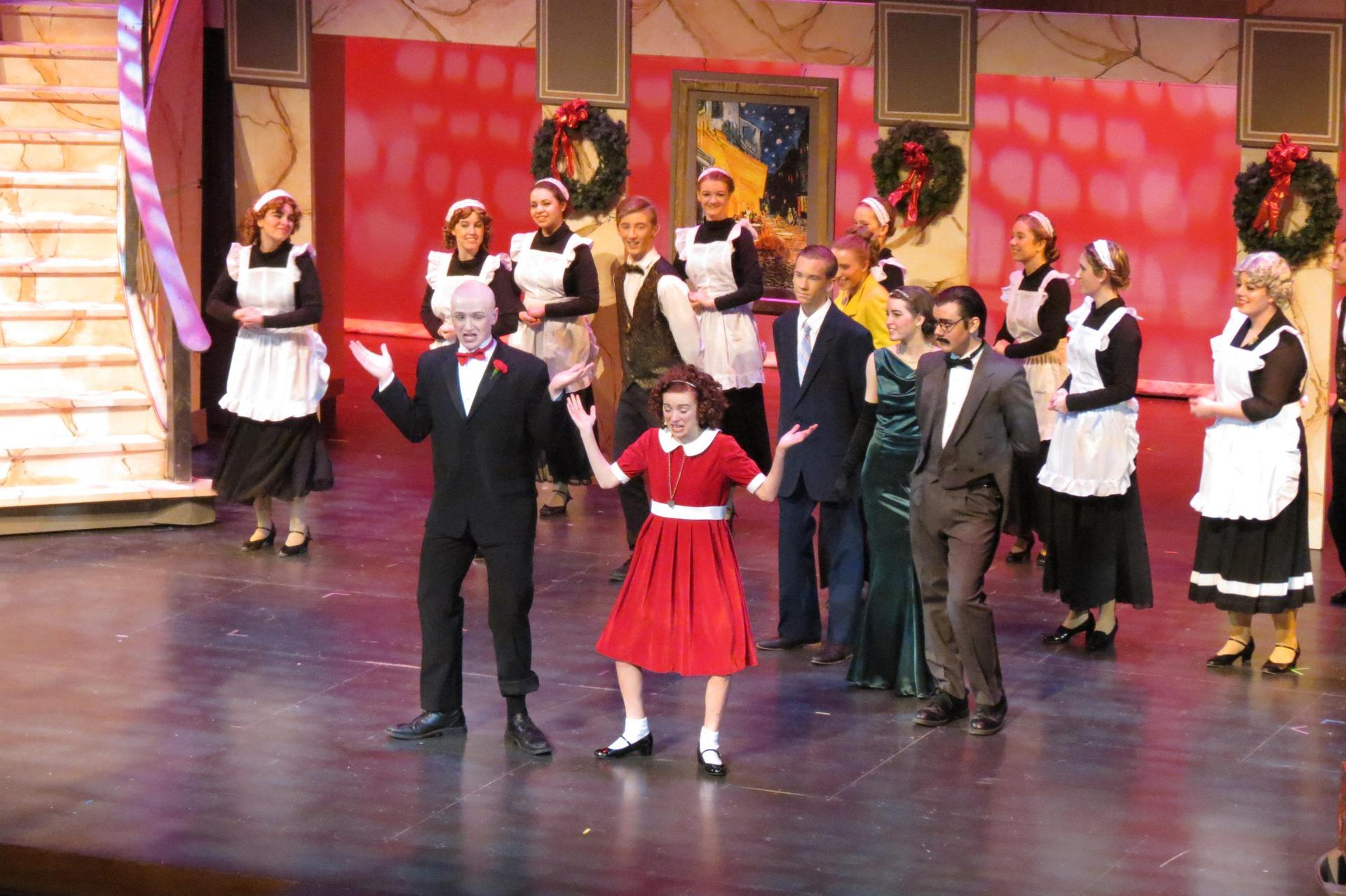 Annie musical performance
