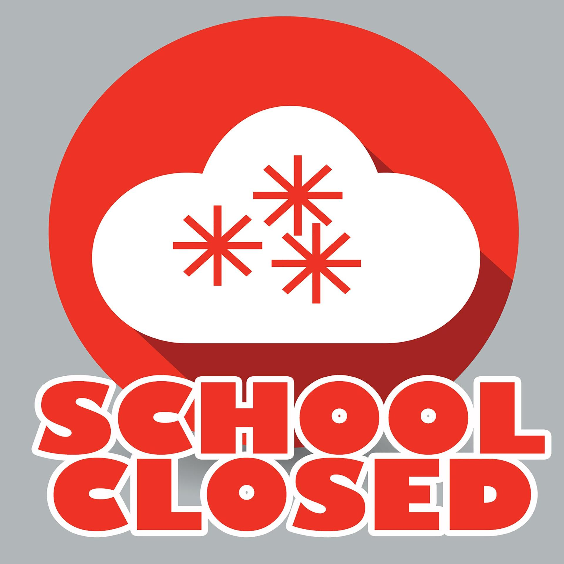 school closed logo