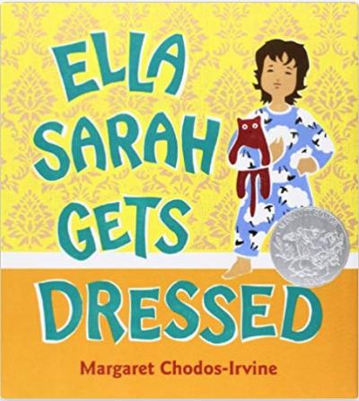 Ella Sarah Gets Dress Book Cover