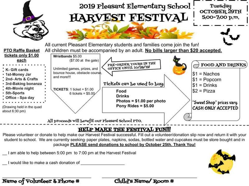 HARVEST FESTIVAL OCTOBER 29, 2019 Featured Photo