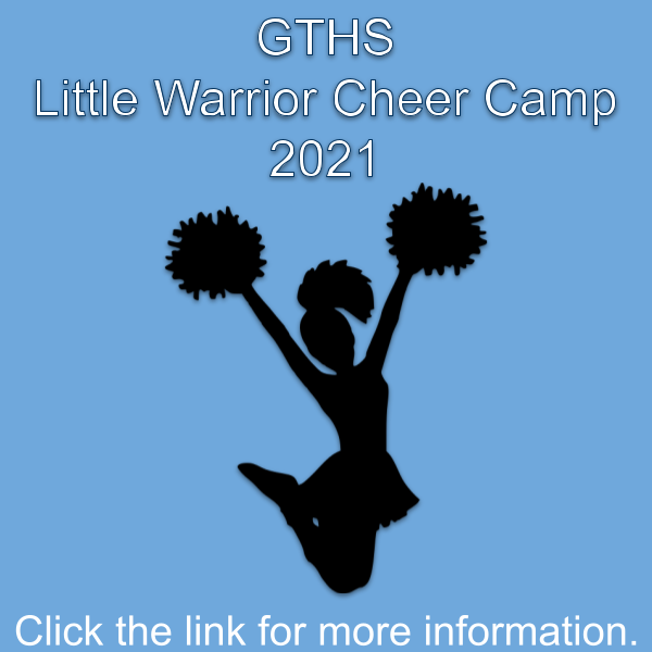 Little Warrior Cheer Camp 2021 Featured Photo