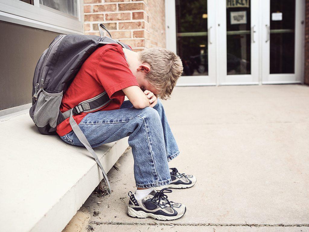 Student feeling alone.