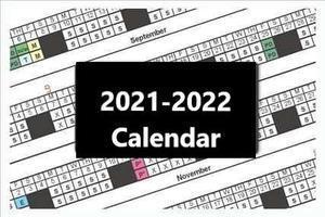 2021-2022 School Calendar Thumbnail Image