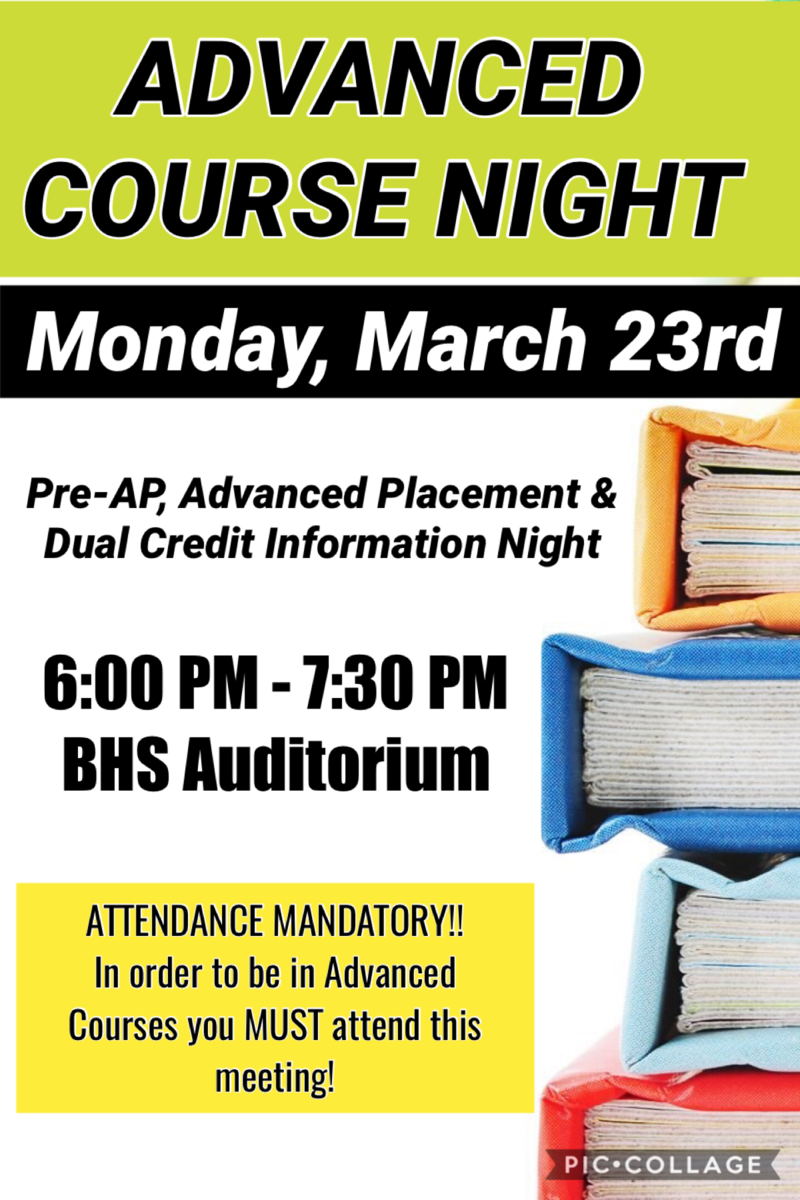 Advanced Course Night - March 23rd Thumbnail Image