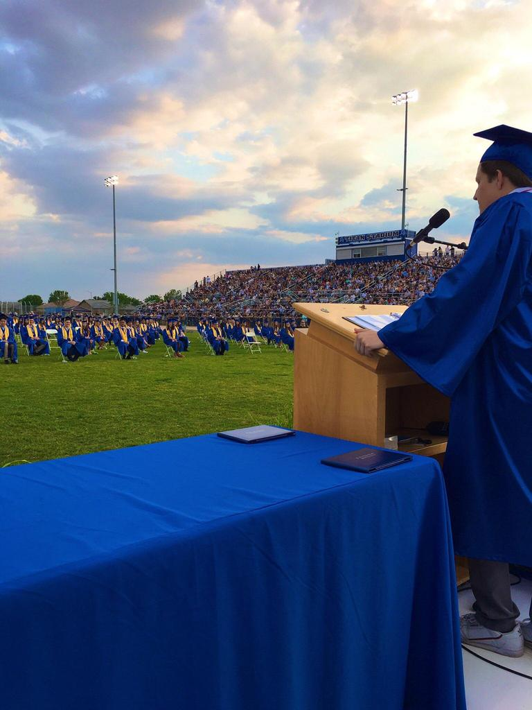 Frontier High School graduation