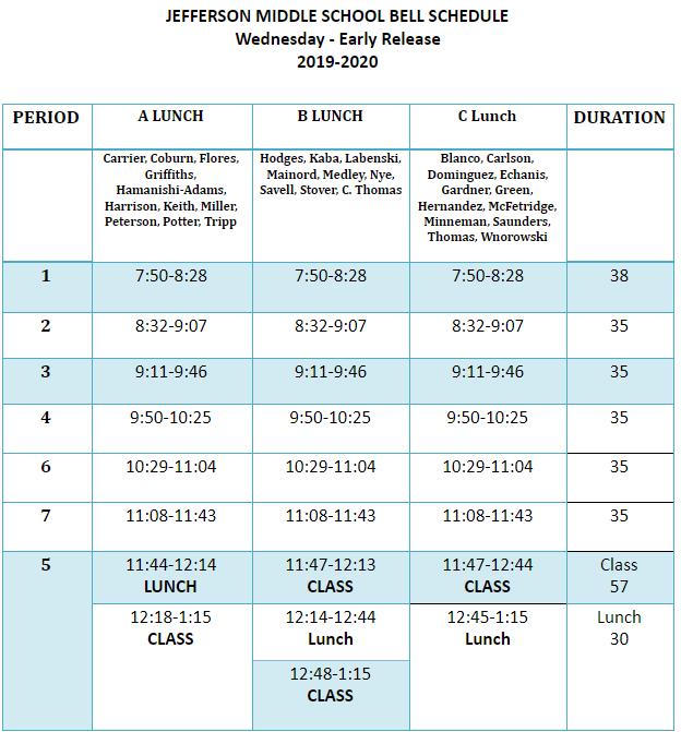 Bell Schedule Clipart