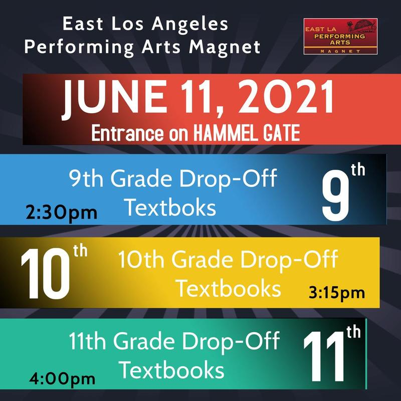 9th, 10th and 11th graders!  Time to Drop off Textbooks Featured Photo