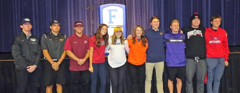 NLI Signing Day - Foothill High School Featured Photo