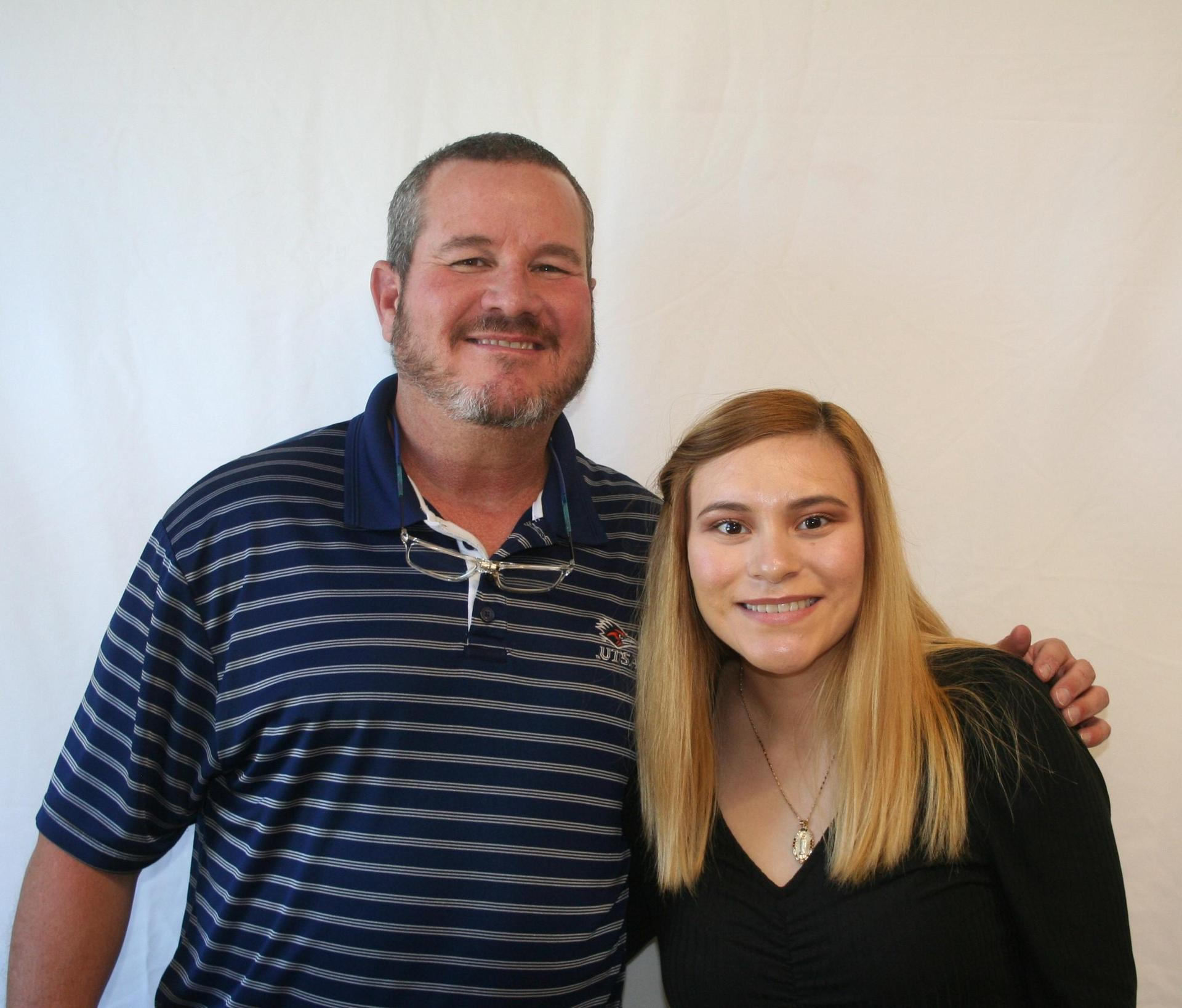 Mr. Payne and Lisbeth Neri