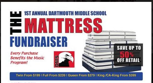 DMS Band Mattress Fundraiser Featured Photo