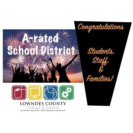 LCSD is now A rated!