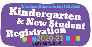 Registration for 2020-2021 School Year