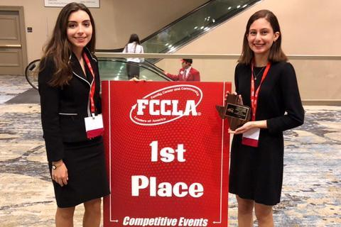 FCCLA Duo to National
