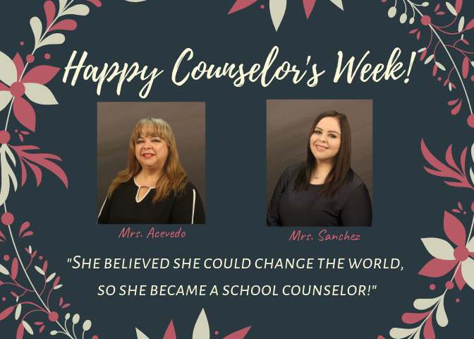 Happy National School Counselor's Week! Featured Photo