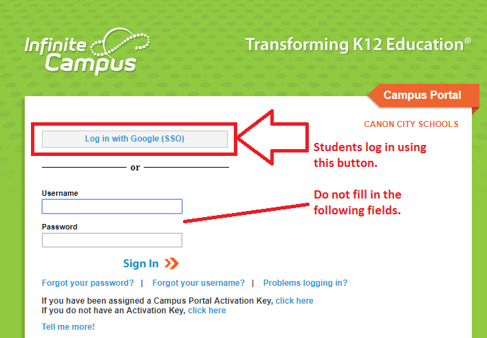 Attention Students - Campus Student Portal App Thumbnail Image