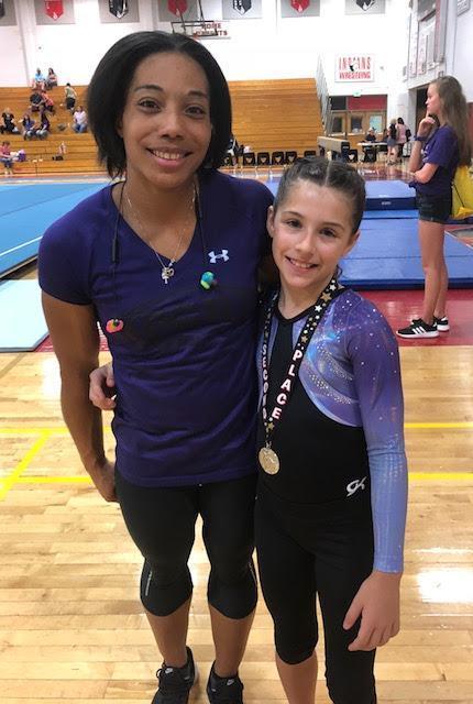 Chloe Carter gymnast