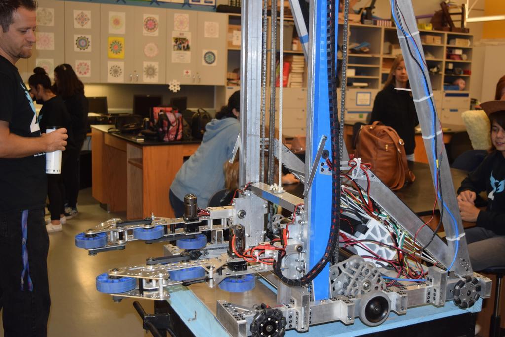 Practice robot in Room 8