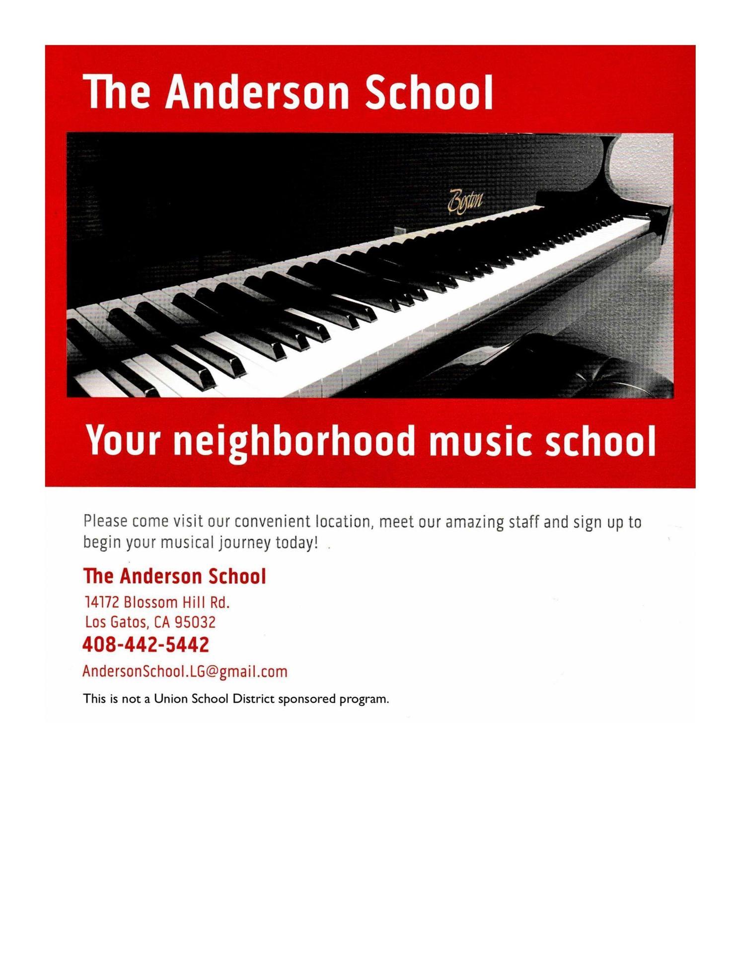 The Anderson School