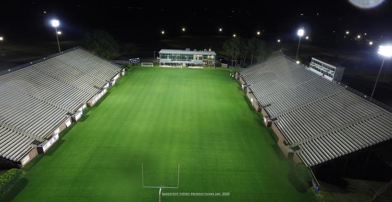 Night Photo of Glynn County Stadium