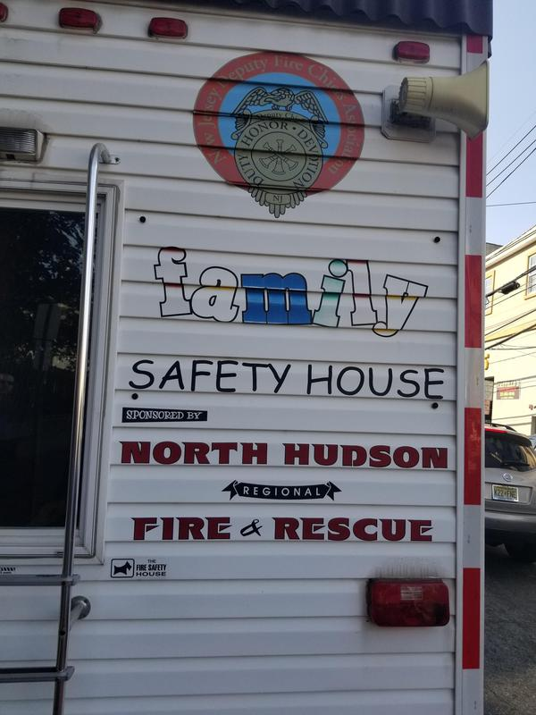 fire safety mobile house