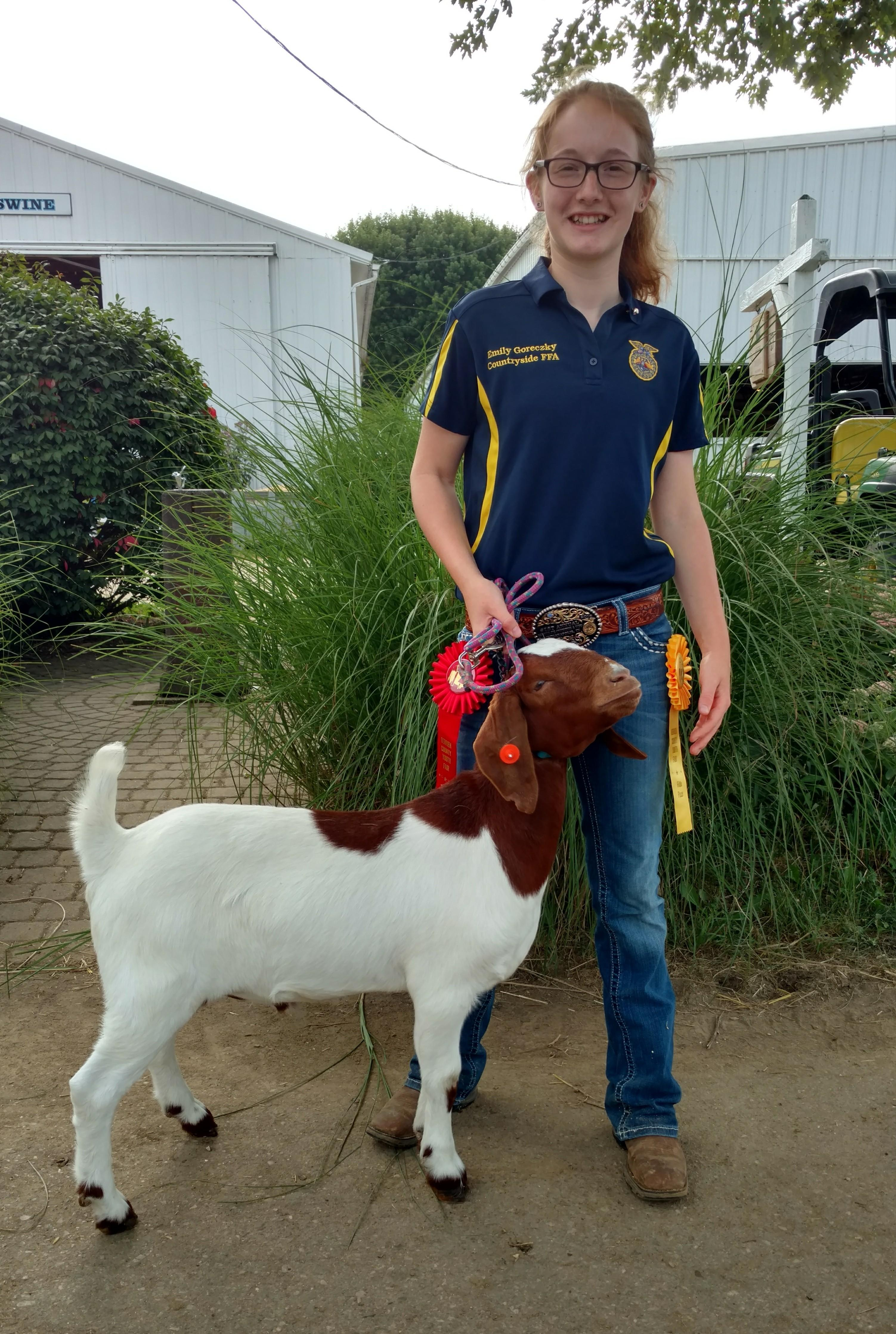 Emily and Goat