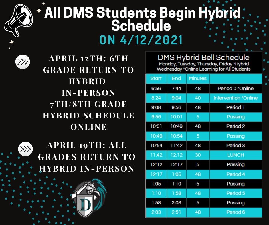 Hybrid Bell Schedule 1