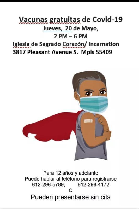 Oportunidad de Vacuna del Covid-19 Gratis Featured Photo