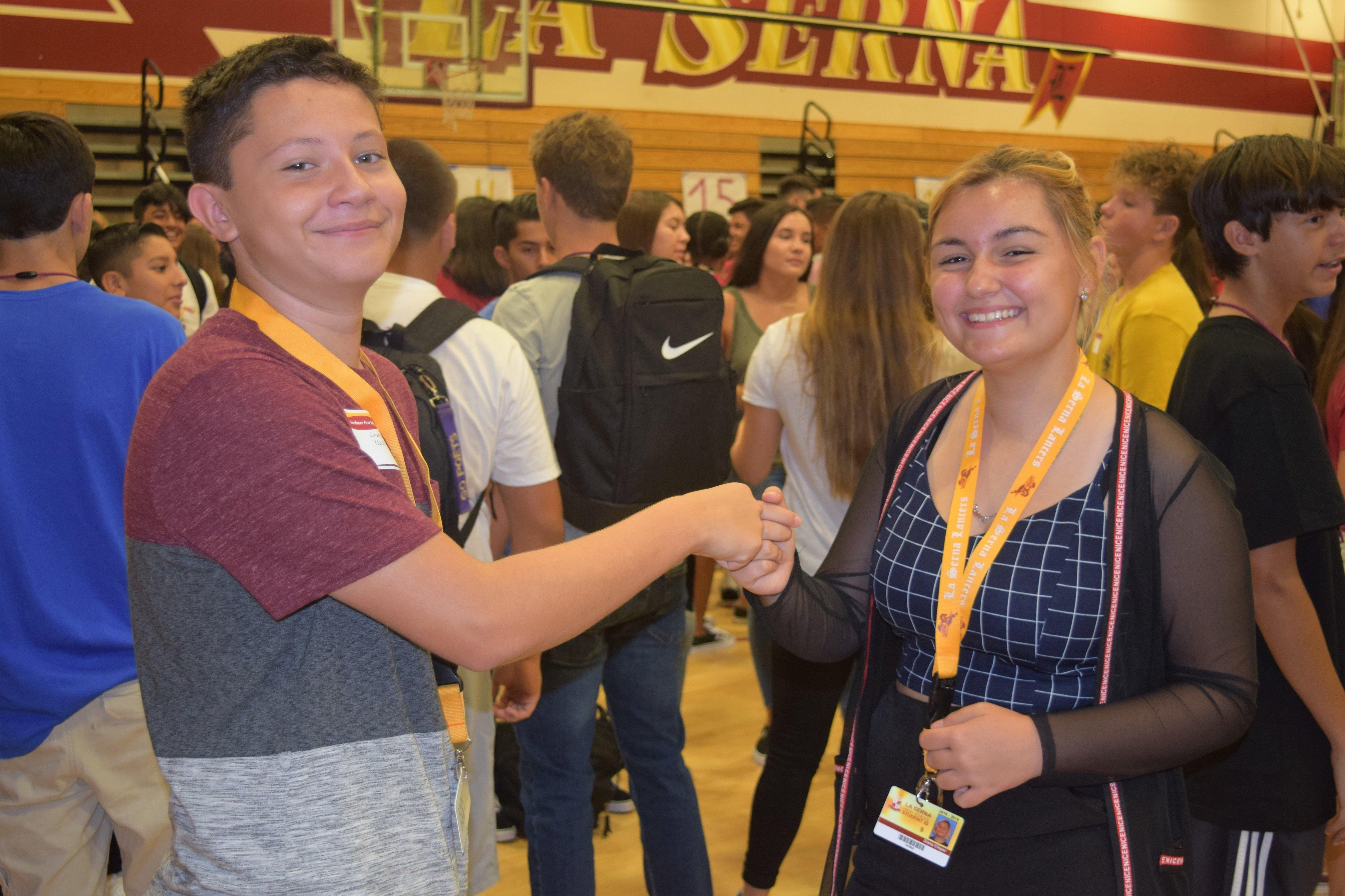 Freshman First Day Kicks Off New Year Featured Photo
