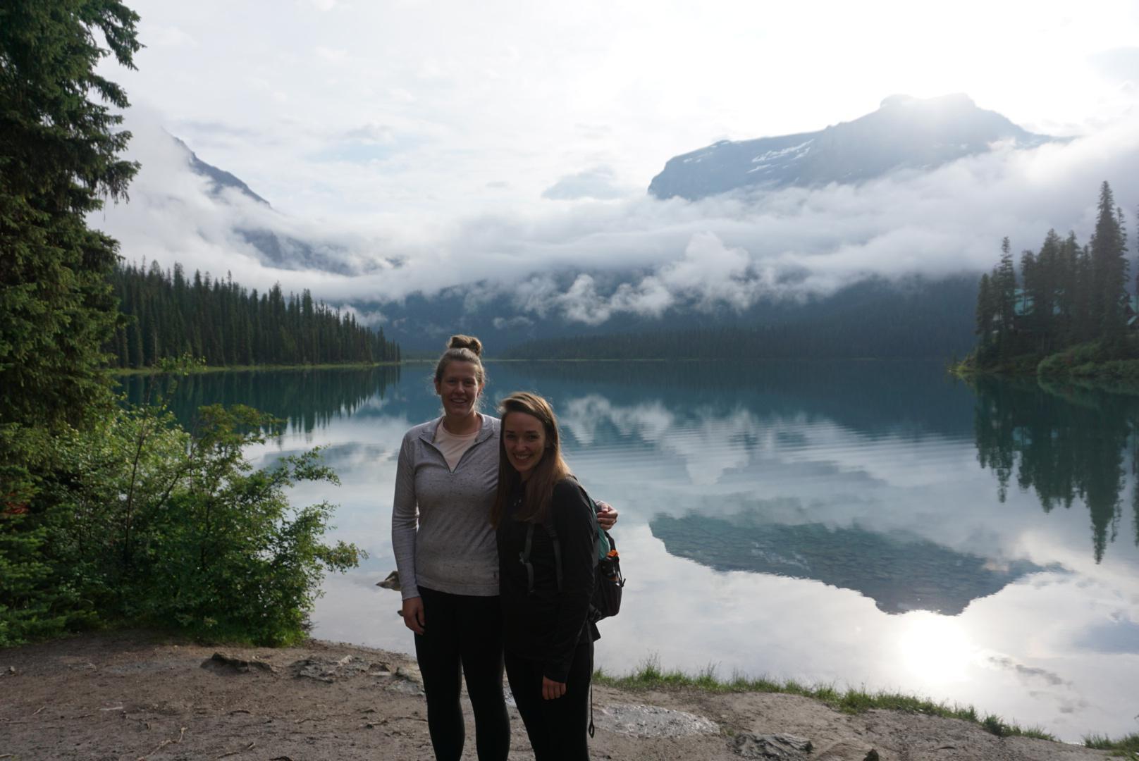 Morning lake views