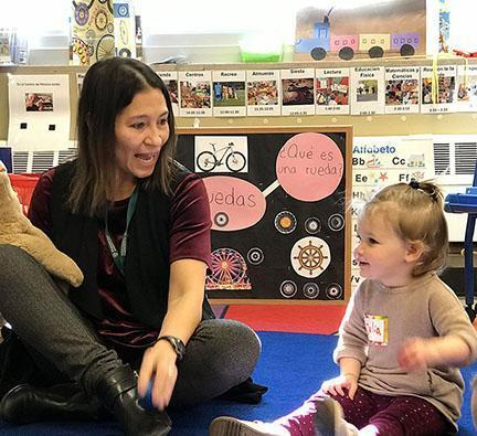 HudsonWay Immersion School mommy and me class for toddlers