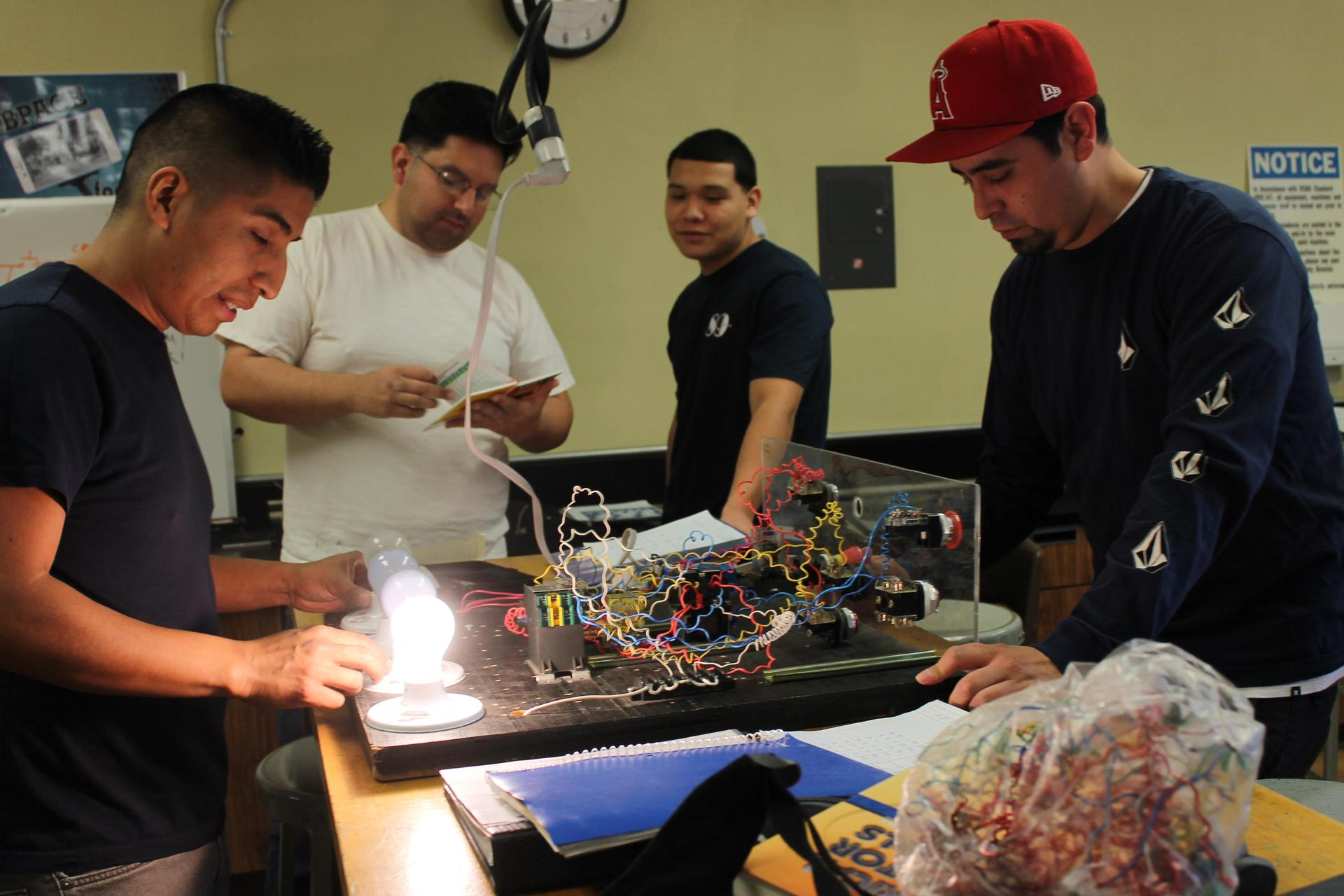Electrician Students