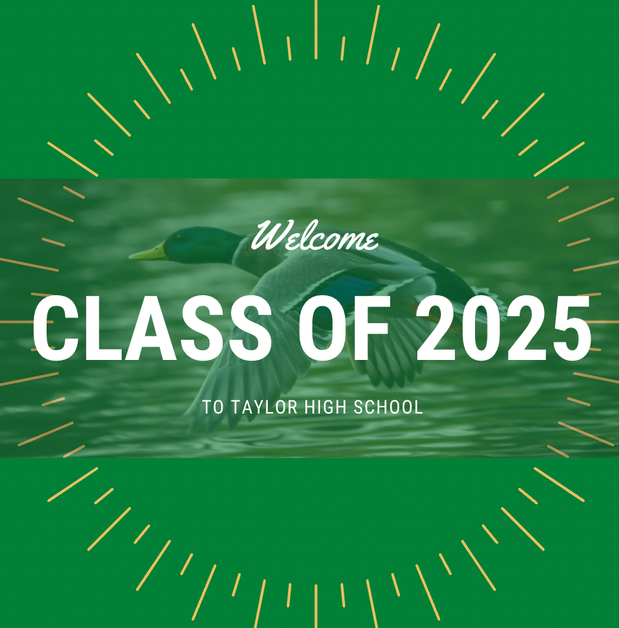 Welcome Class of 2025