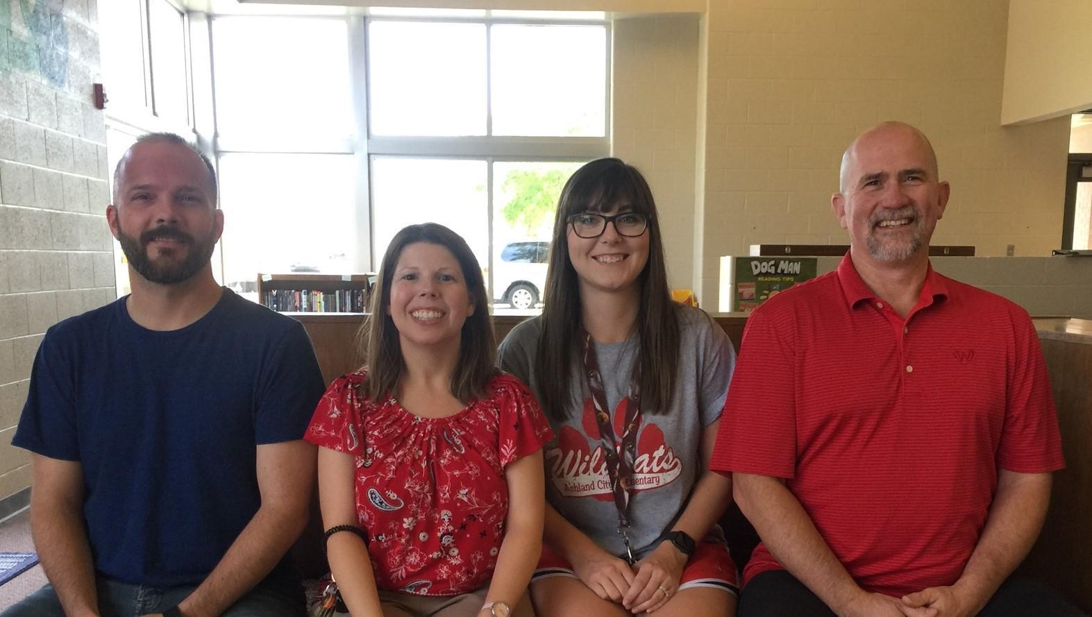 Fourth Grade Team: Mr. Reid, Mrs. Albritton, Mrs. Greer, and Mr. Gossett
