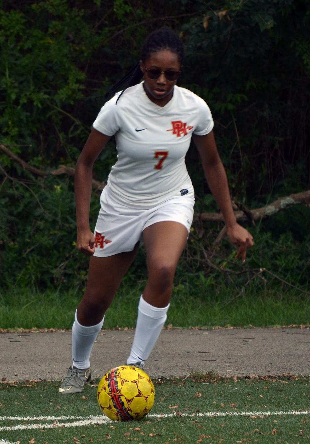 JV Girls' Soccer vs Brashear - 091117