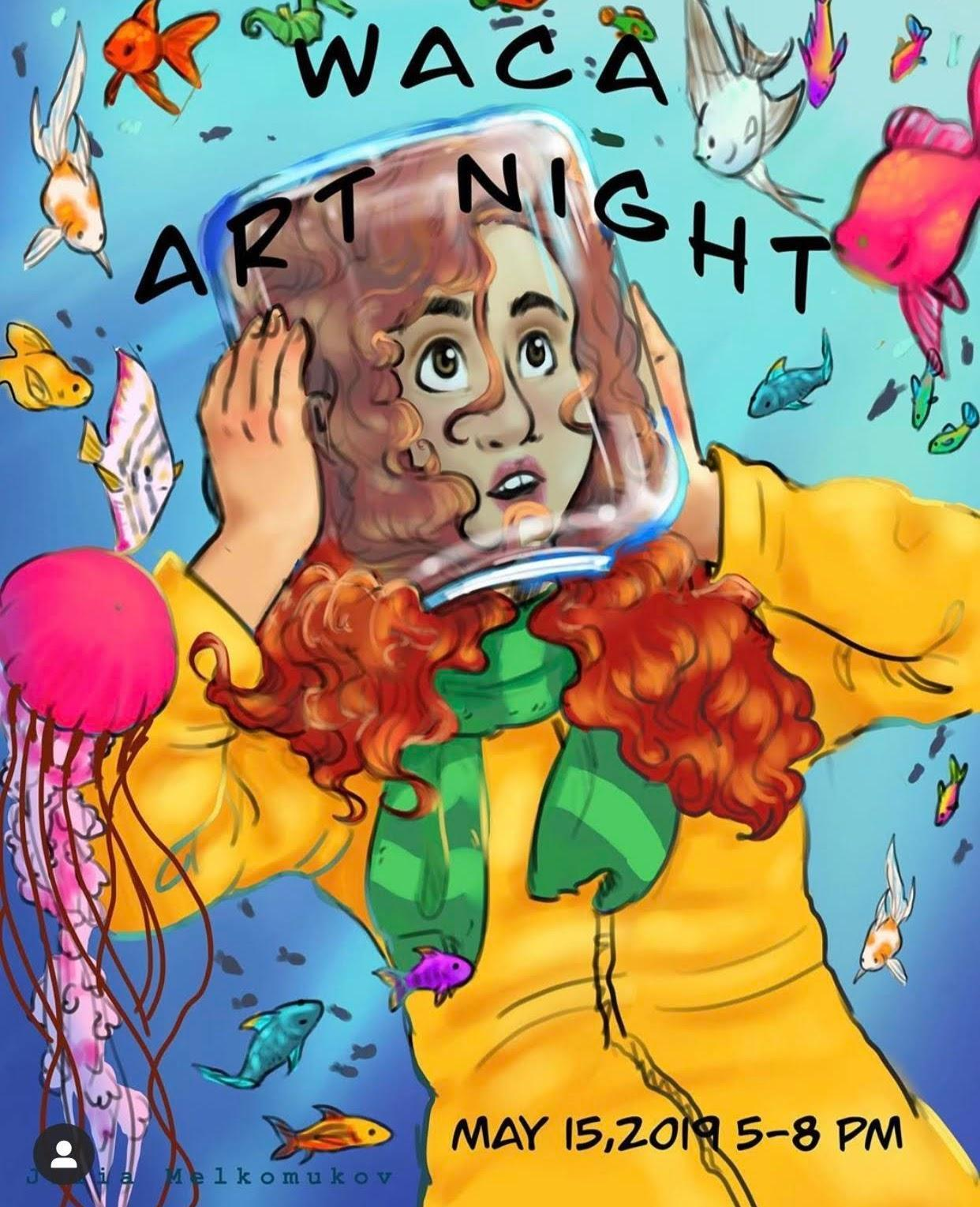 WACA Art Night Poster