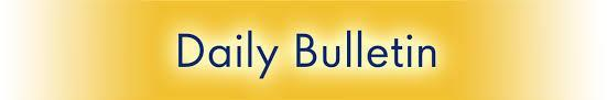 Find the Daily Bulletin Here on the Web Thumbnail Image