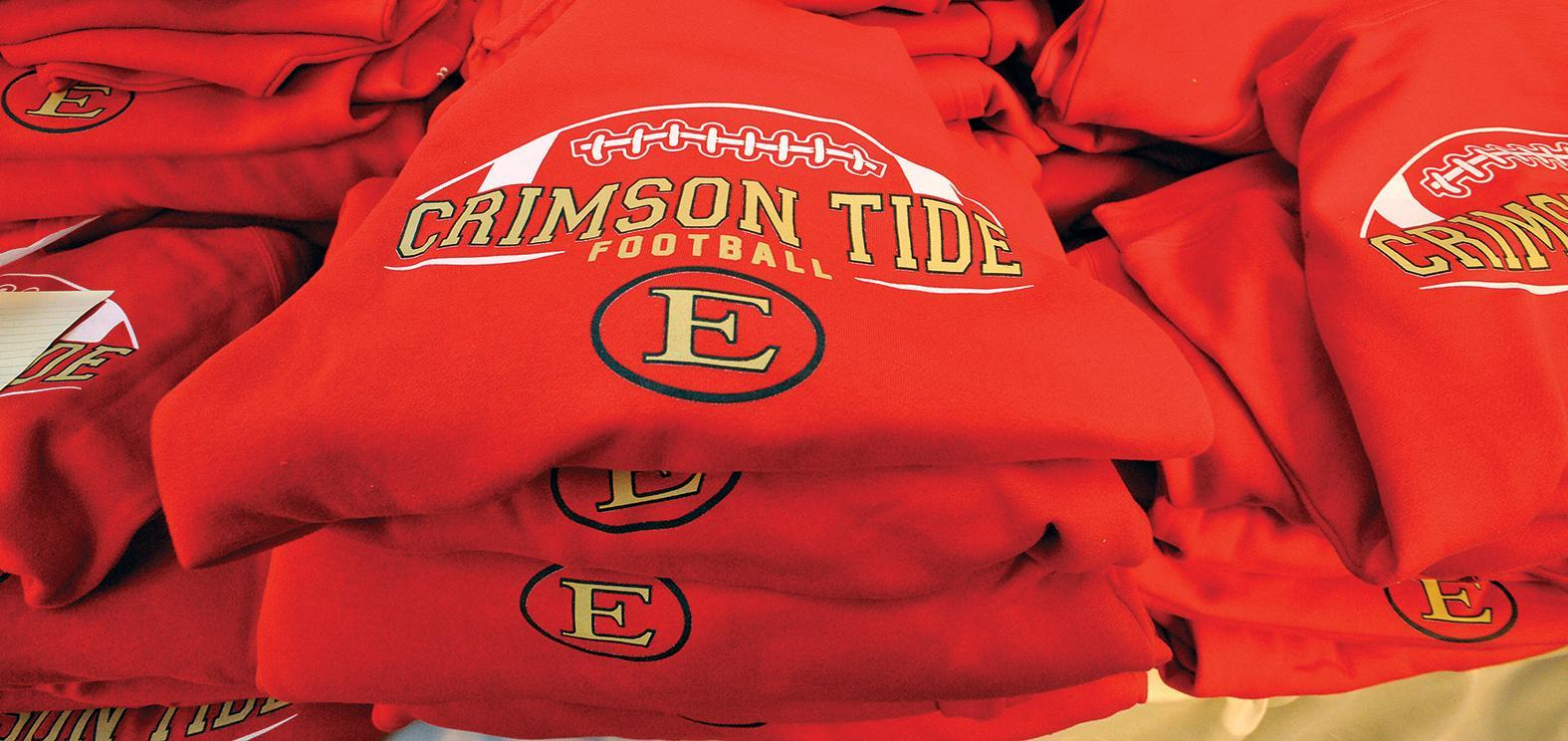 Crimson Tide Football Sweatshirts