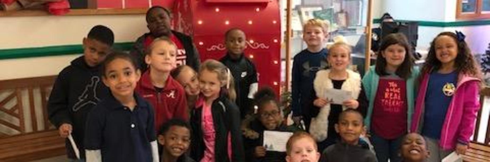 Mrs. Durham's 1st grade class