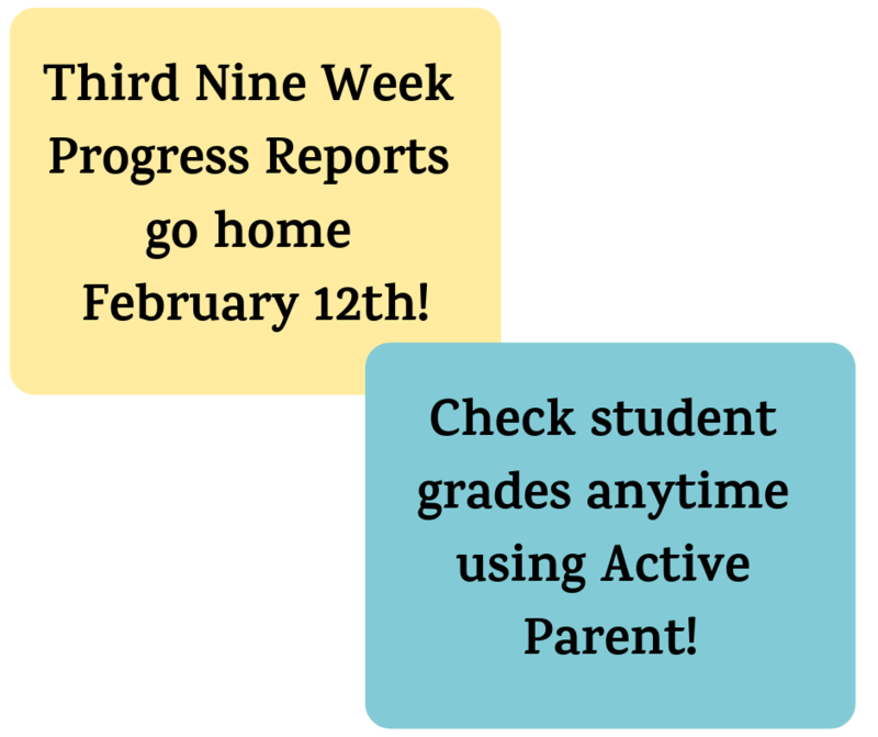 progress reports and active parent