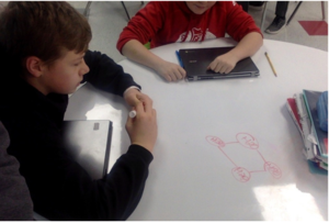 CSMS Students work in Science Lab