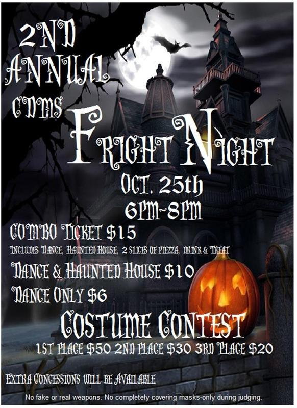 2nd Annual CDMS Fright Night Featured Photo