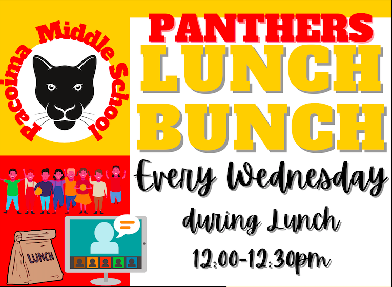 New Club: Panthers Lunch Bunch! Wednesday's from 12:00-12:30 Featured Photo