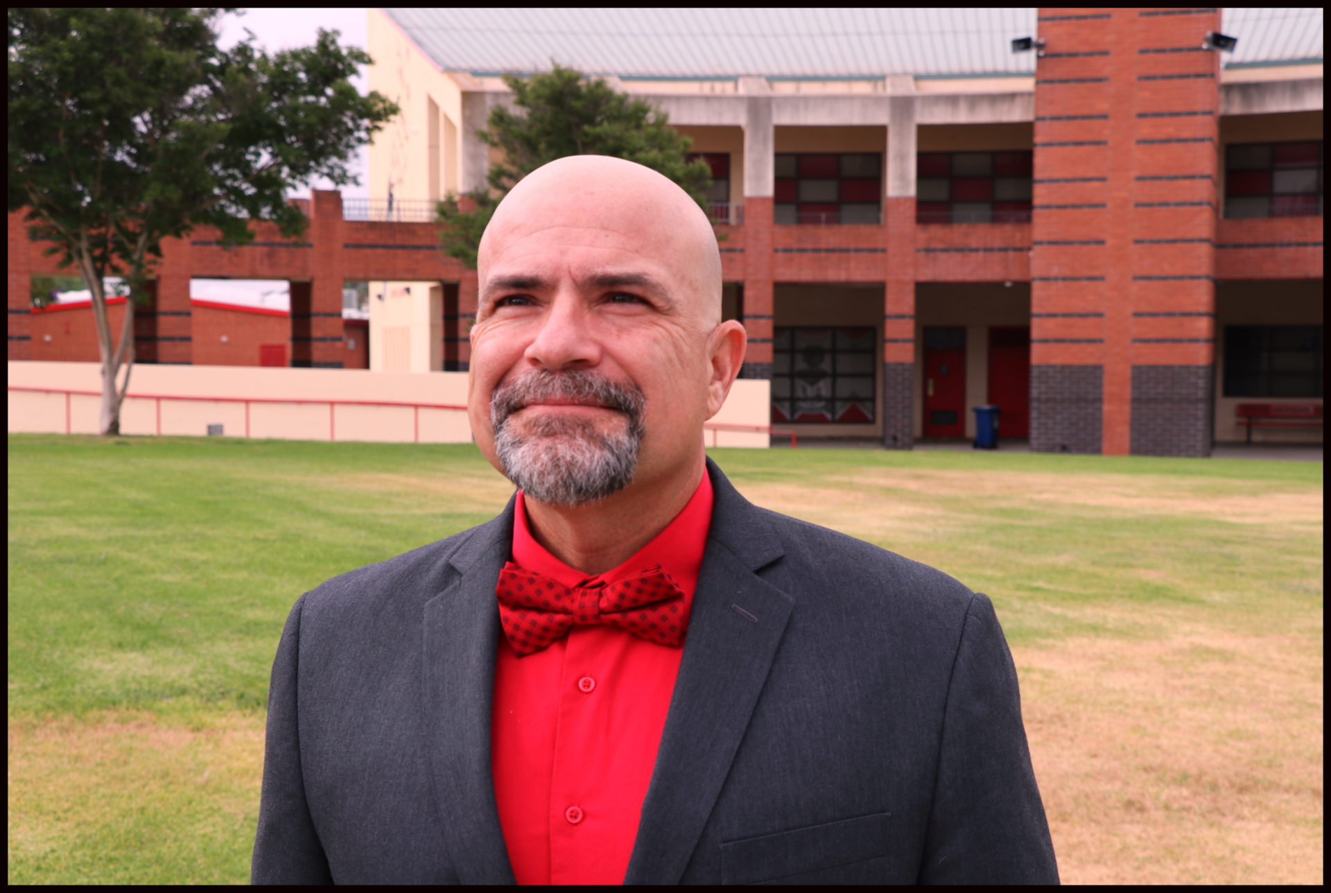 """Looking forward:  Fallbrook High School Principal Dr. Narciso Iglesias sees a great future ahead for the students and community by partnering with IB to become an IB World School.  """"I see us transforming in the next few years based on IB World School pedagogy.  Students will have access to teachers knowledgeable in the Theory of Knowledge,  learning approaches, and IB's Learner Profile of traits and characteristics,"""" Dr. Iglesias said."""